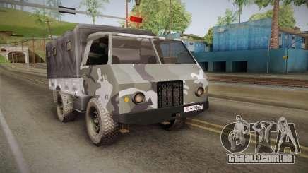 TAM 110 Vojno Vozilo para GTA San Andreas