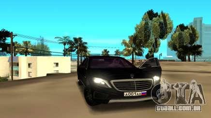 Mercedes-Benz S-Class para GTA San Andreas