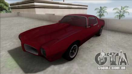 1970 Pontiac Firebird para GTA San Andreas