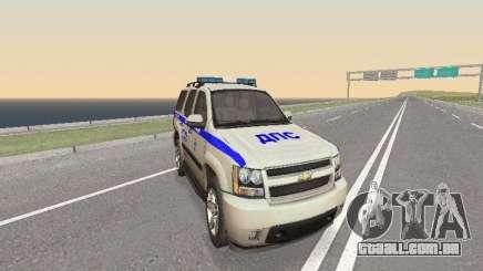 Chevrolet Tahoe Polícia DPS para GTA San Andreas