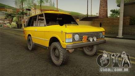 Land Rover Range Rover 1978 para GTA San Andreas