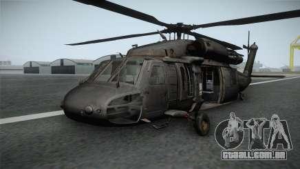 CoD 4: MW - UH-60 Blackhawk RAF Remastered para GTA San Andreas
