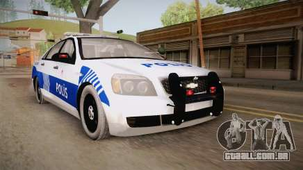 Chevrolet Caprice Turkish Police para GTA San Andreas