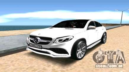 Mercedes-Benz GLE AMG para GTA San Andreas