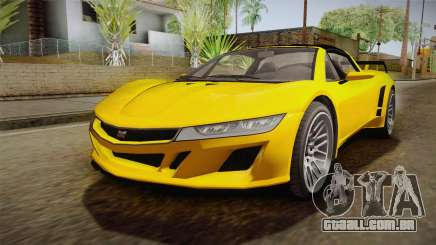 GTA 5 Dynka Jester Spider IVF para GTA San Andreas