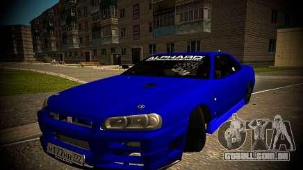 Nissan Skyline HR 34 para GTA San Andreas