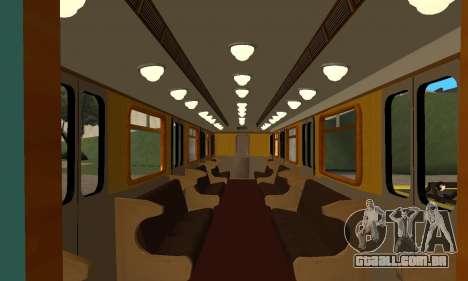 ST_M Metrovagon tipo de Ouriço para as rodas de GTA San Andreas