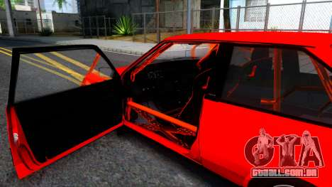 VAZ 2108 de Arraste para GTA San Andreas vista interior