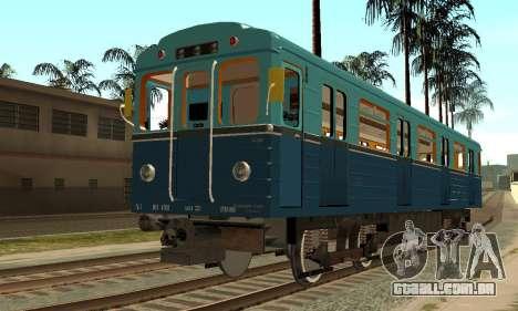 ST_M Metrovagon tipo de Ouriço para GTA San Andreas