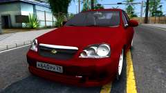 Chevrolet Lacetti Sedan v1.2 para GTA San Andreas