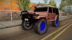 Jeep Wrangler 2012 para GTA San Andreas