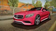 Mercedes-Benz S63 AMG Coupe 2015 v2