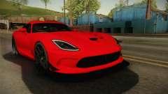 Dodge Viper ACR para GTA San Andreas
