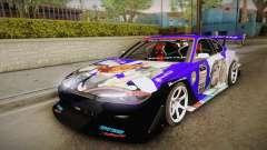 Nissan Silvia S15 Uras D1GP Mika Girl und Panzer para GTA San Andreas