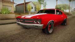 Chevrolet Chevelle SS 1970 купе para GTA San Andreas