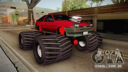 Toyota Corolla GT-S Monster Truck para GTA San Andreas