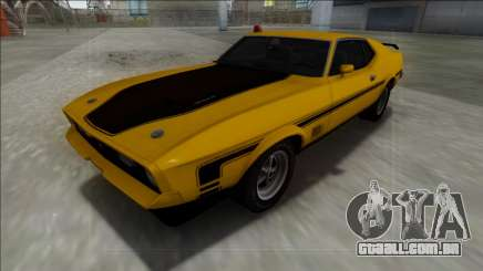 1971 Ford Mustang Mach 1 para GTA San Andreas