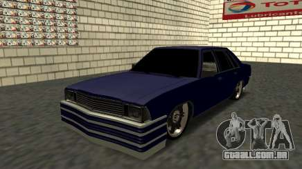 Chevrolet Malibu 1980 V3 Super Tuning Blue para GTA San Andreas