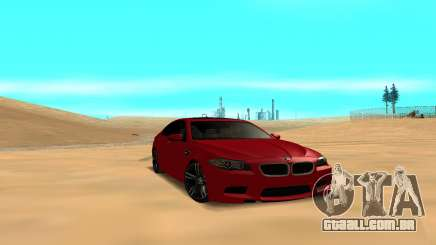 BMW 5 Series F10 para GTA San Andreas