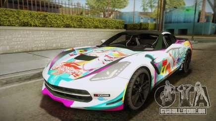 Chevrolet Corvette Z51 C7 2014 GOODSMILE Racing para GTA San Andreas