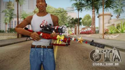 Vindi Xmas Weapon 7 para GTA San Andreas
