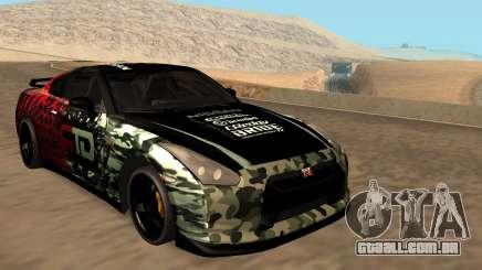 Nissan GTR R35 GTR CLAN para GTA San Andreas