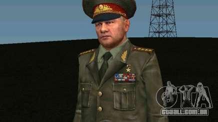 General do exército para GTA San Andreas