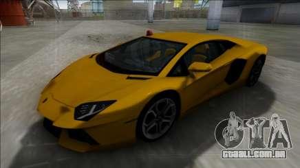 Lamborghini Aventador FBI para GTA San Andreas