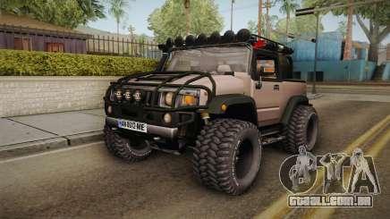 Hummer Wrangler H2 para GTA San Andreas