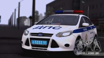 Ford Foucs EM DPS UGIBDD para GTA San Andreas