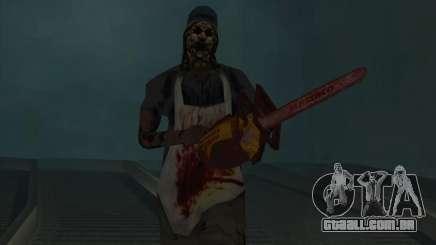 Sobre os trilhos (terror) para GTA San Andreas
