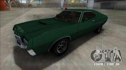 1972 Ford Gran Torino FBI para GTA San Andreas