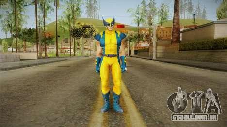 Marvel Heroes - Wolverine Modern UV No Claws para GTA San Andreas segunda tela