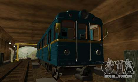 ST_M Metrovagon tipo de Ouriço para GTA San Andreas interior