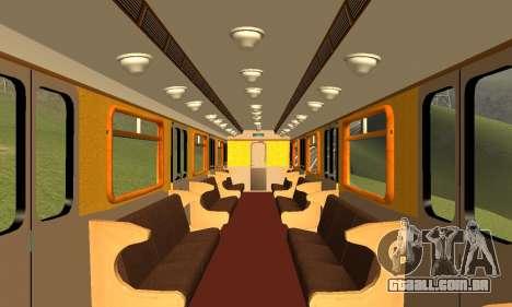 ST_M Metrovagon tipo de Ouriço para o motor de GTA San Andreas