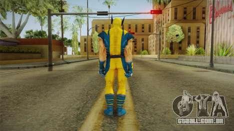 Marvel Heroes - Wolverine Modern UV No Claws para GTA San Andreas terceira tela