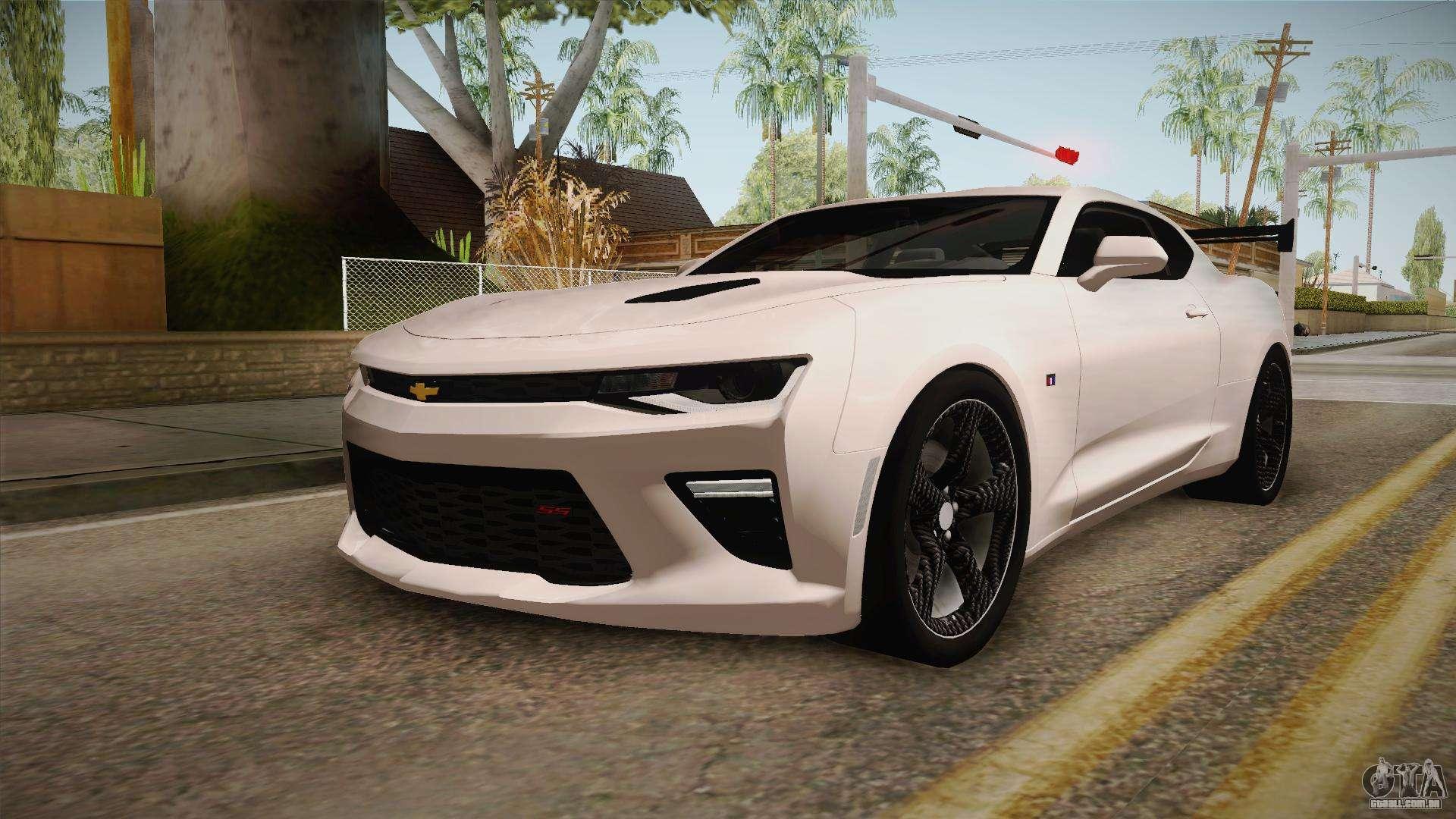 Chevrolet Camaro SS 2017 Tuning Carbon Race para GTA San ...