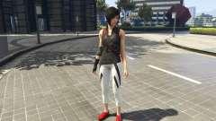 Faith Connors Mirrors Edge para GTA 5