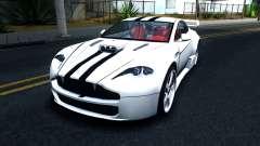 Aston Martin Vantage V8 para GTA San Andreas