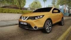 Nissan Qashqai 2016 IVF para GTA San Andreas