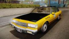 Chevrolet Caprice Taxi 1989 IVF
