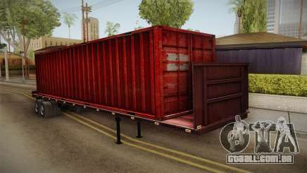 Red Trailer Container HD para GTA San Andreas