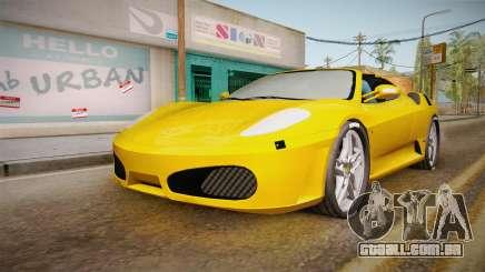 Ferrari F430 Spyder para GTA San Andreas