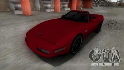 1996 Chevrolet Corvette C4 Cabrio para GTA San Andreas
