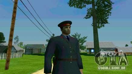O capitão de polícia da URSS para GTA San Andreas