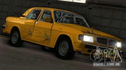GAZ 3110 Táxi para GTA San Andreas