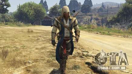 Connor Kenway Assassins Creed 3 para GTA 5