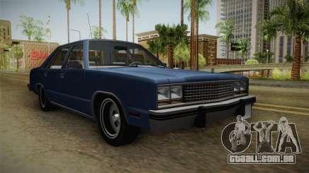 Ford Zephyr 1982 para GTA San Andreas