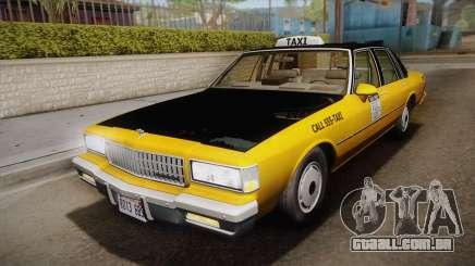 Chevrolet Caprice Taxi 1989 IVF para GTA San Andreas