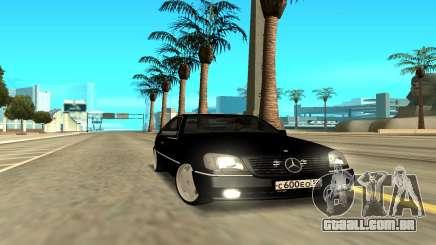 Mercedes-Benz 600SEC para GTA San Andreas